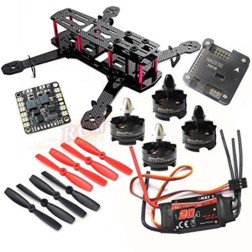 Hobbypower DIY 250 Mini Quadcopter H250 Racing Drone Frame Kit + HP (250 Kit)