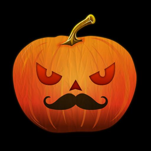 [Moustache-O-Lantern Live Wallpaper] (Moustache Halloween)