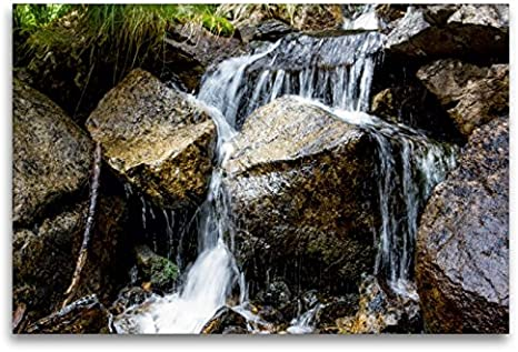 Calvendo Bachlauf im National Park Aigüestortes i estany de Sant maurici, 120 x 80 cm
