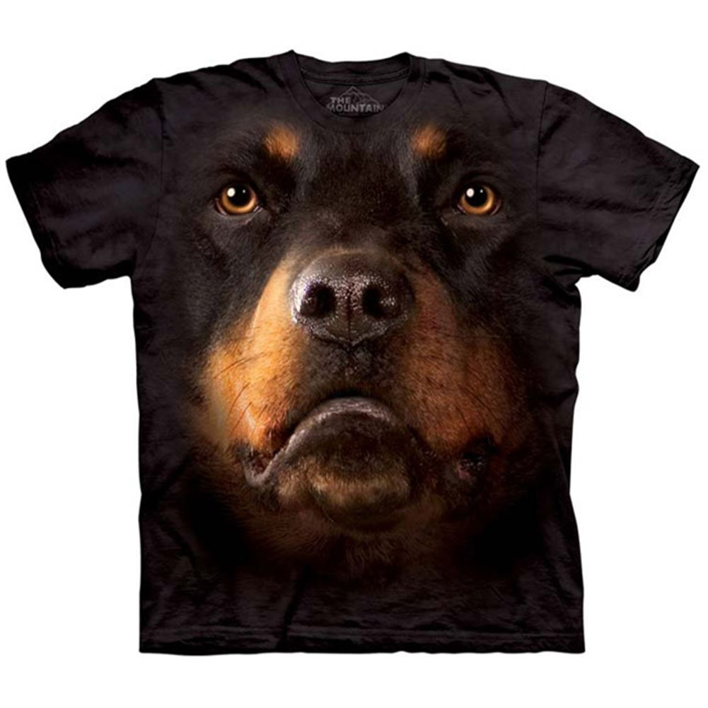 The Mountain Kids Rottweiler Face T-Shirt