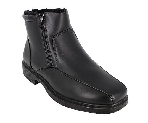 buyAzzo Herren Winter Stiefel Business Outdoor Stiefeletten