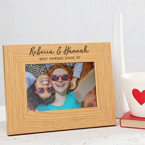 Personalised Best Friends Photo Frame Best Friend Gifts For Women Birthday Gifts For Friends Amazon Co Uk Handmade