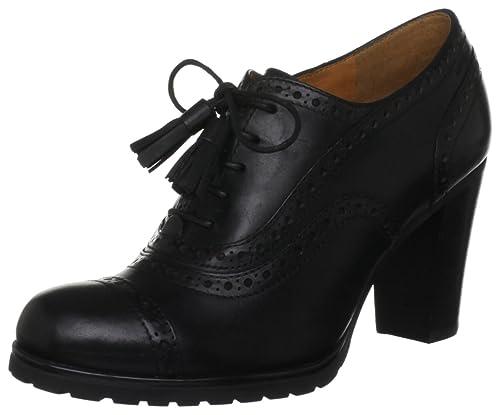ec1892a8f7980 Geox Women's D Trish Abx R Black Brogue D24Y1R43C9999 7 UK, 40 EU ...