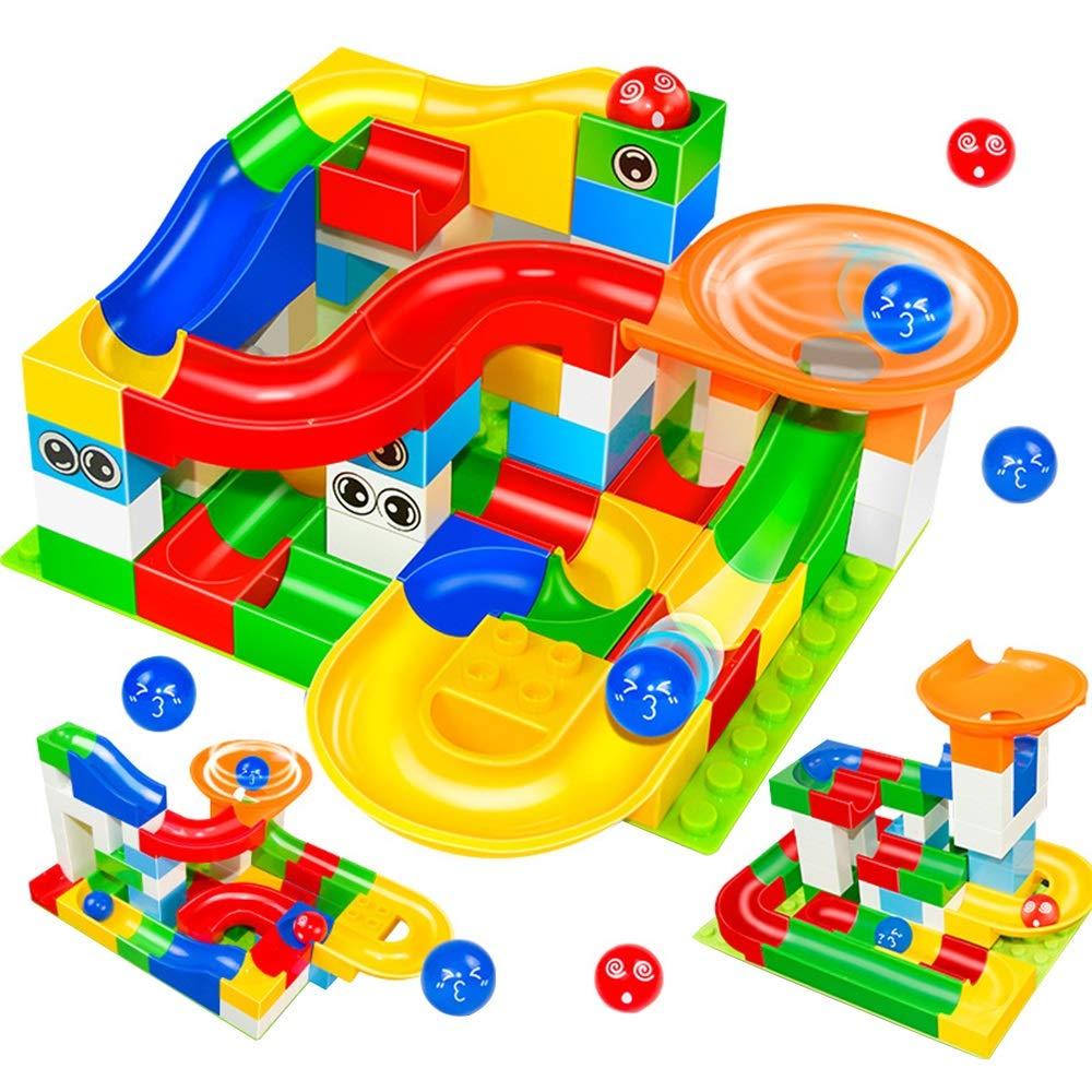 Jurenay Nouveau modèle de Jeu de Jouet Building Blocks Construction Toys Set Puzzle Race Track Kids-52 Pieces/Set Couleur boîte Convient à Tout Le Monde