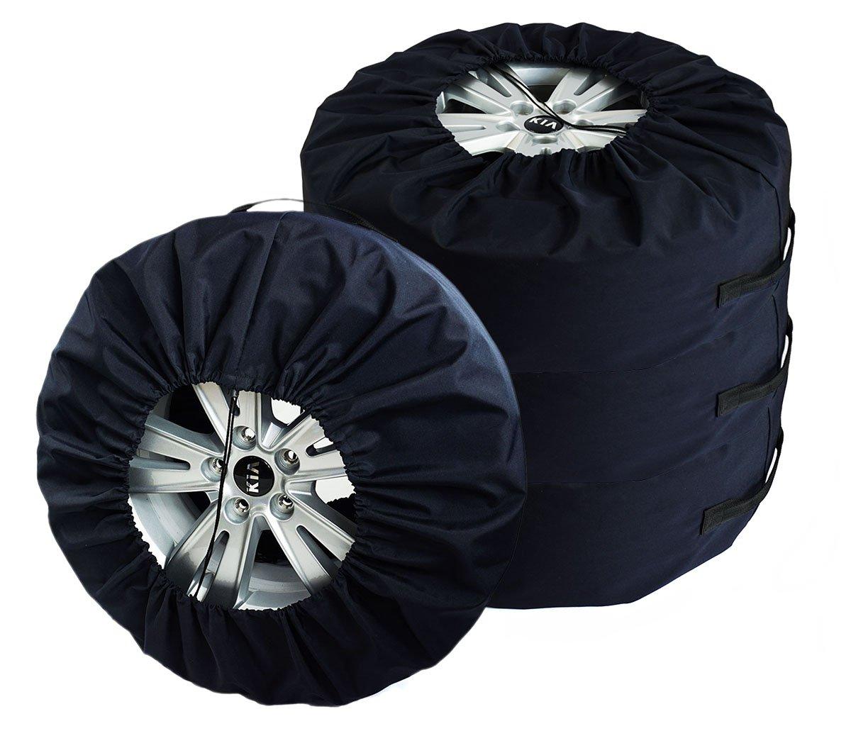 SET 4 Premium Borse per pneumatici COPRIRUOTA 17 - 22 ' XXXL Ferocity