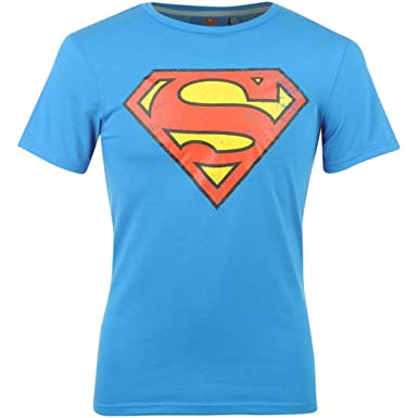 6fececf66ea Superman T Shirt Mens  Amazon.co.uk  Clothing
