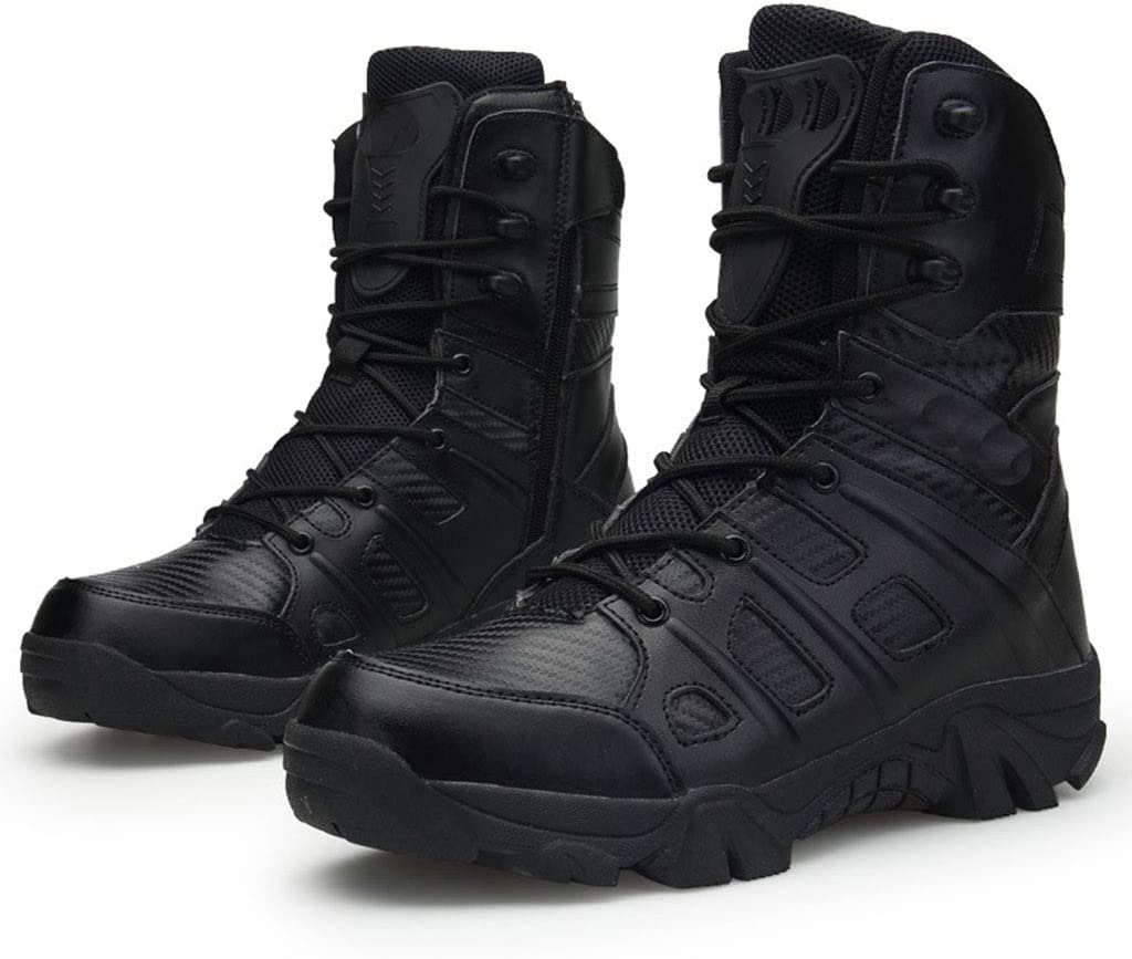 Wangxyan Botas Militares de Combate para Hombres Patrulla de ...