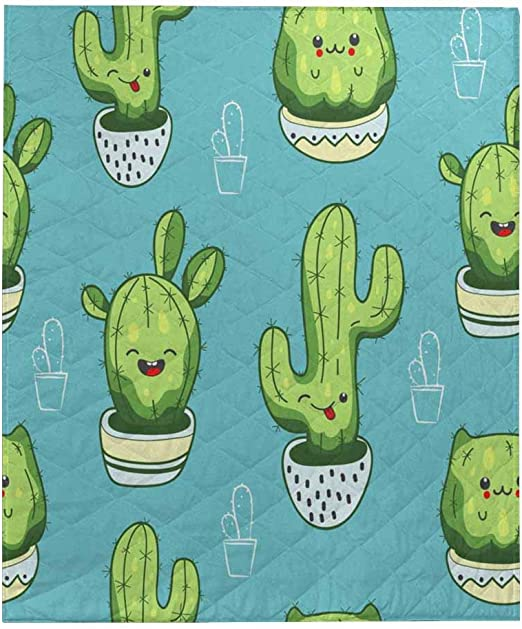 Amazon Com Interestprint Cute Kawaii Cactus And Succulents With