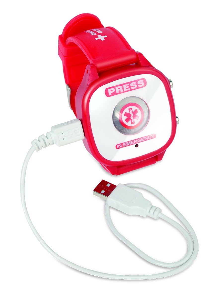 Emergency Recorder That Sounds, Flashes, and Plays Emergency Message. Great for Elders Or Anyone with A Serious Medical Condition.