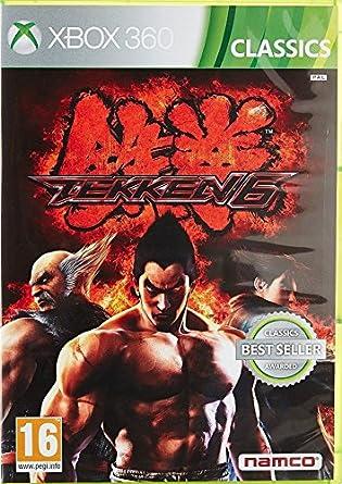 Amazon Com Tekken 6 Classics Xbox 360 Video Games