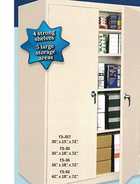 STEEL CABINETS USA U0026quot;Fixed Shelf Seriesu0026quot; Heavy Duty Steel Storage  Cabinet   Available