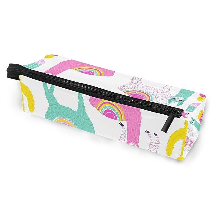bd567bbf7348 Toprint Cute Alpaca Llama Cactus Glasses Bag Pouch Portable Travel ...