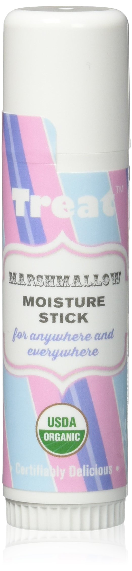 TREAT Jumbo Marshmallow Moisture Stick, Organic & Cruelty Free (.50 OZ)
