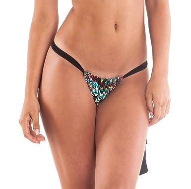 Adjustable thong bikini