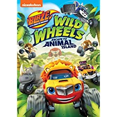 Blaze and the Monster Machines: Wild Wheels Escape to Animal Island arrives on DVD Sept. 19 from Nickelodeon