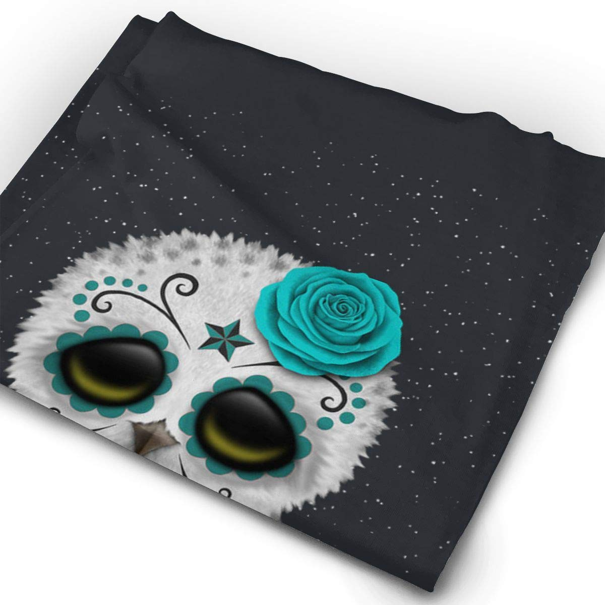 Cute Owl Pattern Unisex Fashion Quick-Drying Microfiber Headdress Outdoor Magic Scarf Neck Neck Scarf Hooded Scarf Super Soft Handle