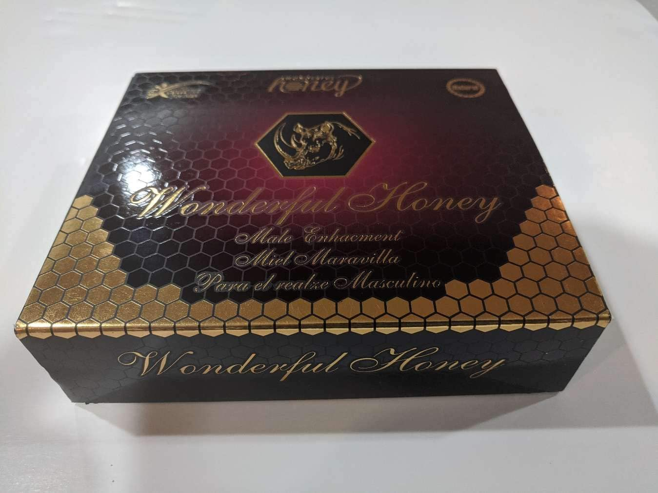 Wonderful Honey for Men - 12 x 15 Gram Sachets