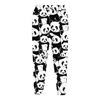 Summer Style Panda Pantalones de chándal Hombres/Mujeres Hip Hop ...