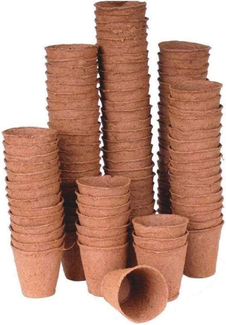 1pc 50pcs Plástico Planta De Semillero Vivero Macetas De Flor Depósito De Semillas a Partir Ollas