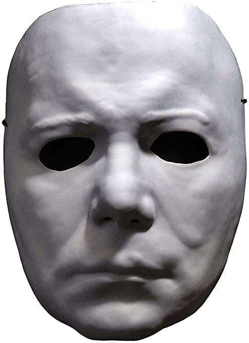 Amazon.com: Adult Halloween Michael Myers Vacuform Mask Standard: Clothing