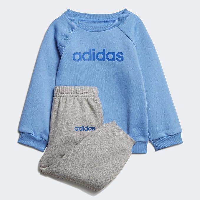 adidas Infant Linear Jogger Fleece Suits, Unisex niños: Amazon.es ...