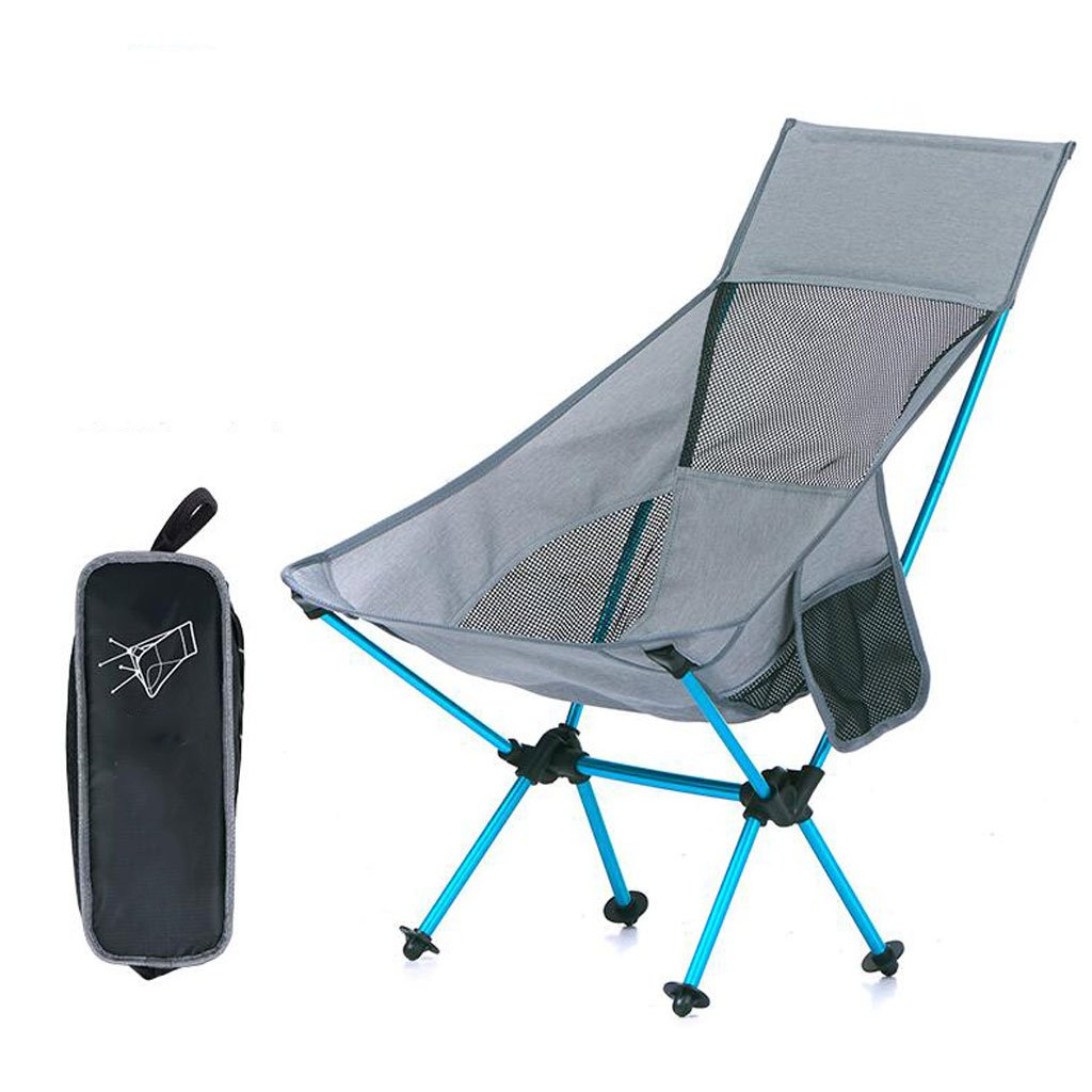 Outdoor Tragbare Klappstuhl Angeln Stuhl Camping Strand Stuhl Freizeit Mond Stuhl