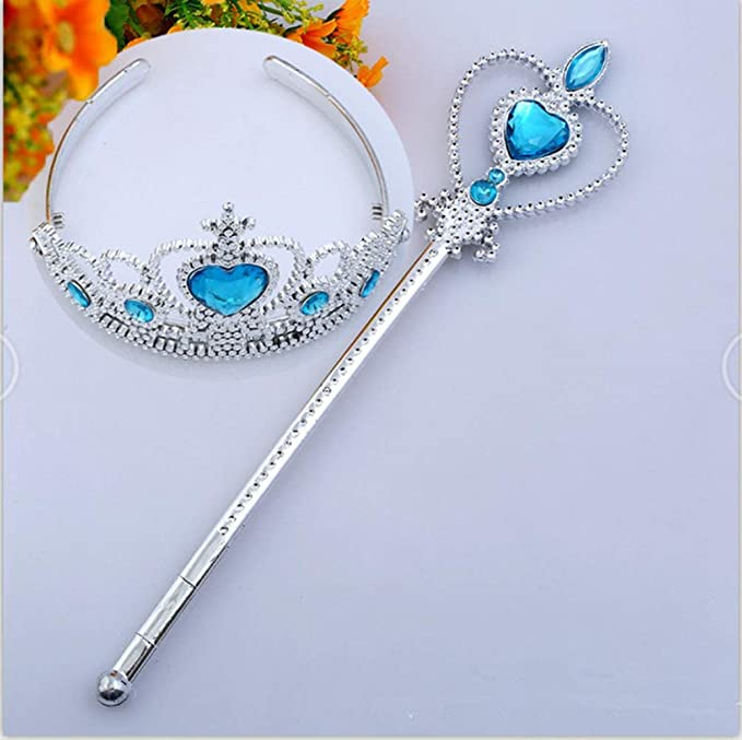 Amazon.com: YBpineer Tiara de cristal corona princesa corona ...