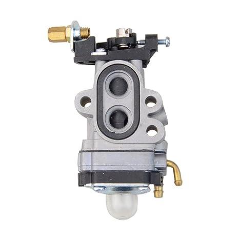 GOOFIT 37mm Carburetor for 23cc Gas Backpack Blower Trimmer PPBP30 SM30SB  Scooter Go Ped Engine
