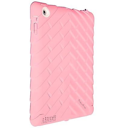 Gumdrop DS-IPAD3-PNK-WHI Drop - Carcasa de goma para iPad 3 ...