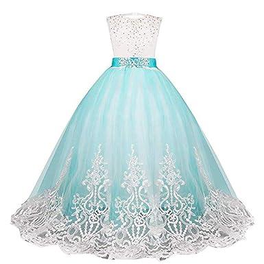 Cinnamou Vestido Elegantes Para Niñas Vestido De Flores De