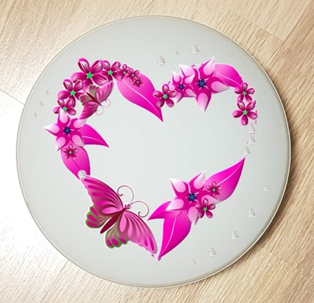 Deckenleuchte/Wandlampe * Schmetterling Herz Blumen * auch LED - mit/ohne Name