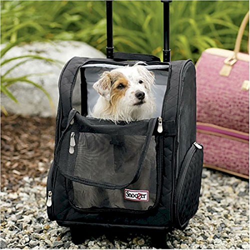 Roll Around Pet Carrier - Medium/Black