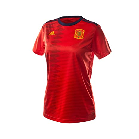 Primera 2018 Wc Adidas España Equipación MujerCamisetaRed 2019 35cjqAL4R