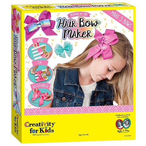 Creativity for Kids Designed by You Hair Bow Maker, used for sale  Delivered anywhere in USA