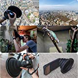 BYIA Phone Camera Lens, Protable The Ultimate Lens Hood Take Reflection-Free Photos Videos for Photographers