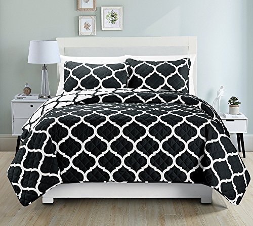 Why Should You Buy Mk Collection Twin /Twin Extra Large 2 Pc Bedspread Modern Reversible Bedspread B...