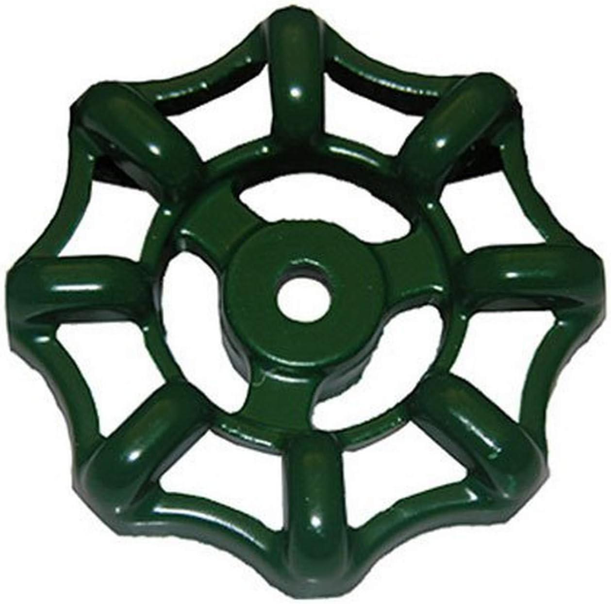 12 Point Broach LASCO 01-5109 Metal Outside Faucet Hose Bibb Round Wheel Handle