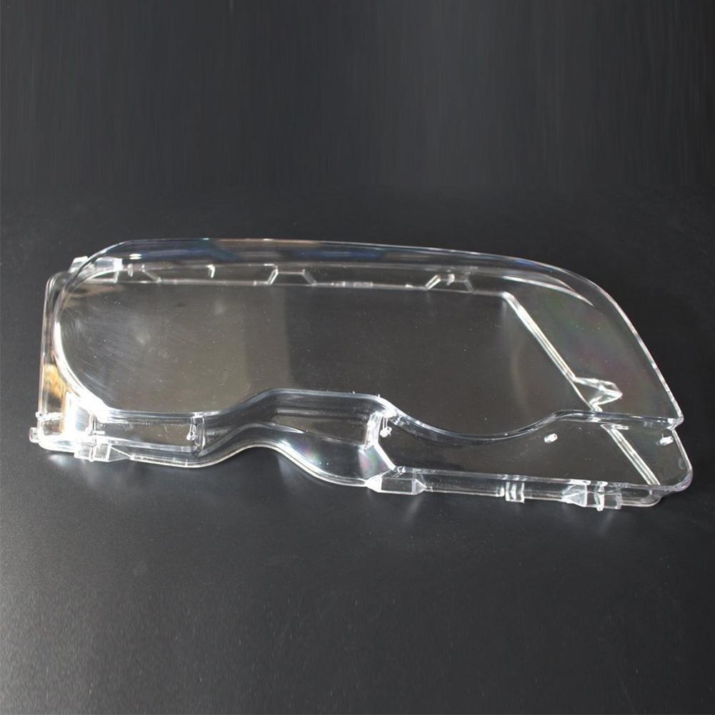 Pretty-Jin Couverture de Phare de Voiture 1 Paire de Nouveaux Couvre-Objectif de Phare Gauche et Droit en Polycarbonate pour BMW E46 2001-2006 Lumiè re de Voiture de Protection Abat-Jour Avant