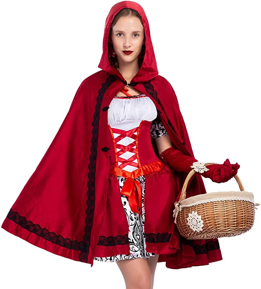Adult Little Red Riding Hood Shoe Covers Costume Accessory