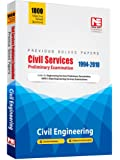 Civil Services Preliminary Exam: Civil Engineering - Previous Solved Papers (1994-2010)
