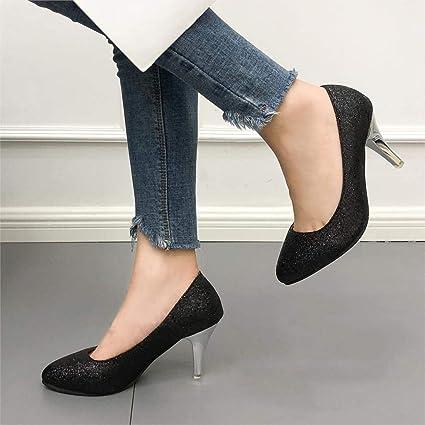 Amazon.com: Zapatillas de boda para mujer, tallas altas ...