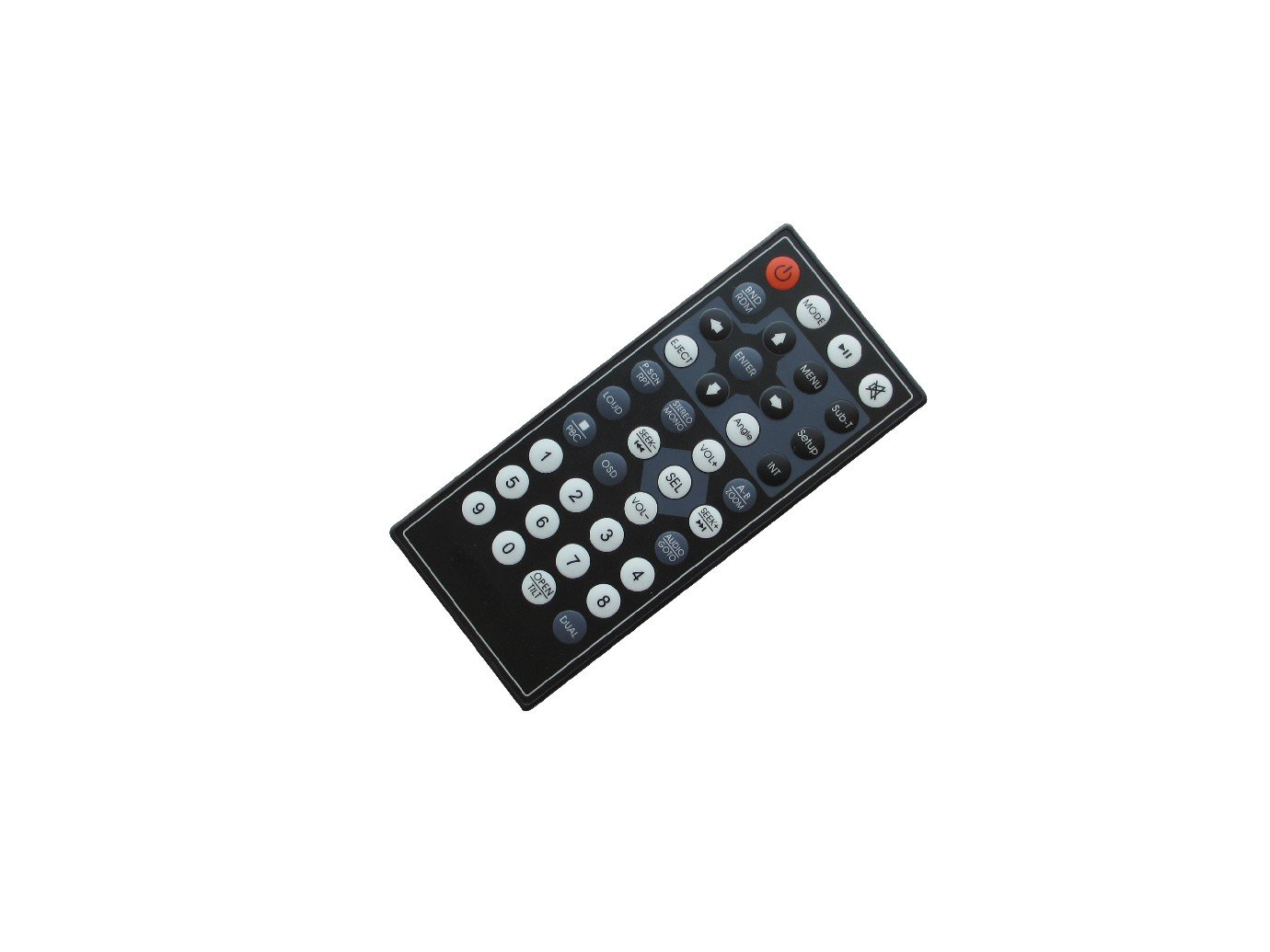 Hotsmtbang Replacement Remote Control For Power Acoustik PD-701B PD-710BT PD-342 PD-344 PD-344T DVD CD USB TV FM MP3 Player Bluetooth Car Stereo Receiver