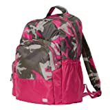 Lug Echo Packable Backpack, Camo Pink, One Size