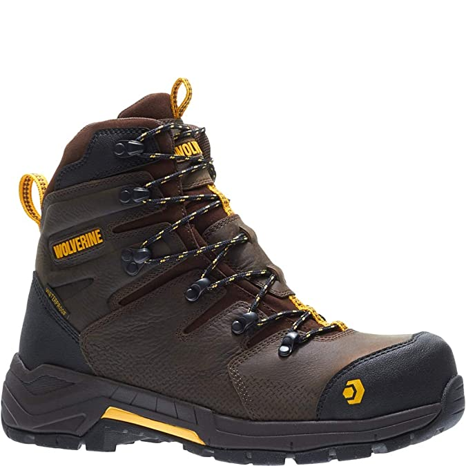 be30c3af3c9 Wolverine Men's Contractor LX WPF Composite-Toe Construction Boot