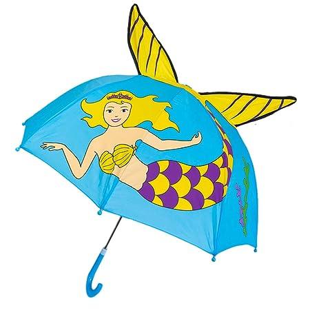 BINGHONG3 Paraguas para niños, diseño de Dibujos Animados ...
