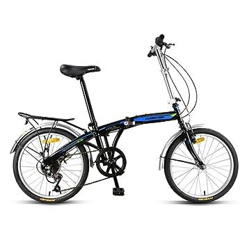 YEARLY Adultos bicicleta plegable, Bikes plegables Ligero Portátil Hombres y mujeres Velocidad Ciudad Paseo Puede
