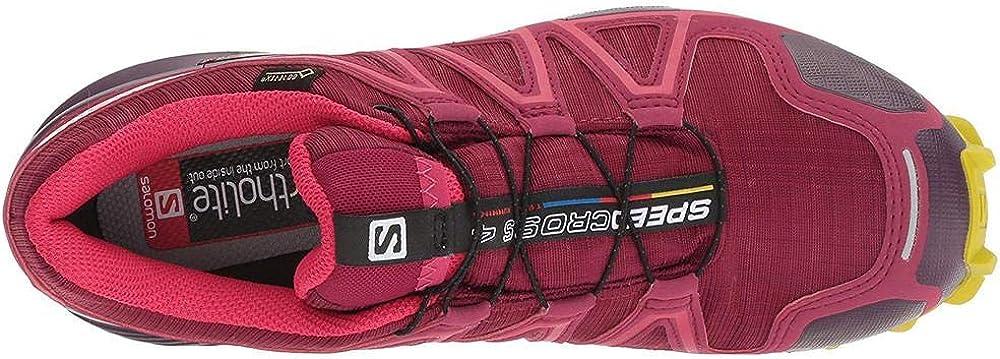 SALOMON Damen Speedcross 4 GTX Traillaufschuhe gr/ün 43.5 EU