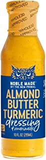 product image for Noble Made by The New Primal Almond Butter Turmeric Dressing & Marinade, Whole30 & Paleo Approved, Gluten, Dairy & Soy Free, 10 fl oz