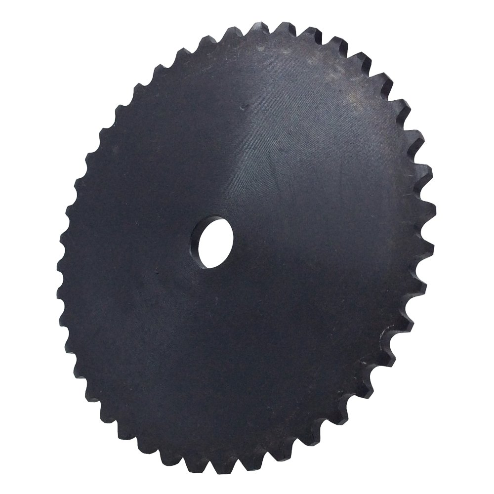 KOVPT # 35 Roller Chain Plate Sprocket A Type 48 Teeth Bore Size 0.594 Pith 0.378 Carbon Steel Black 1PCS