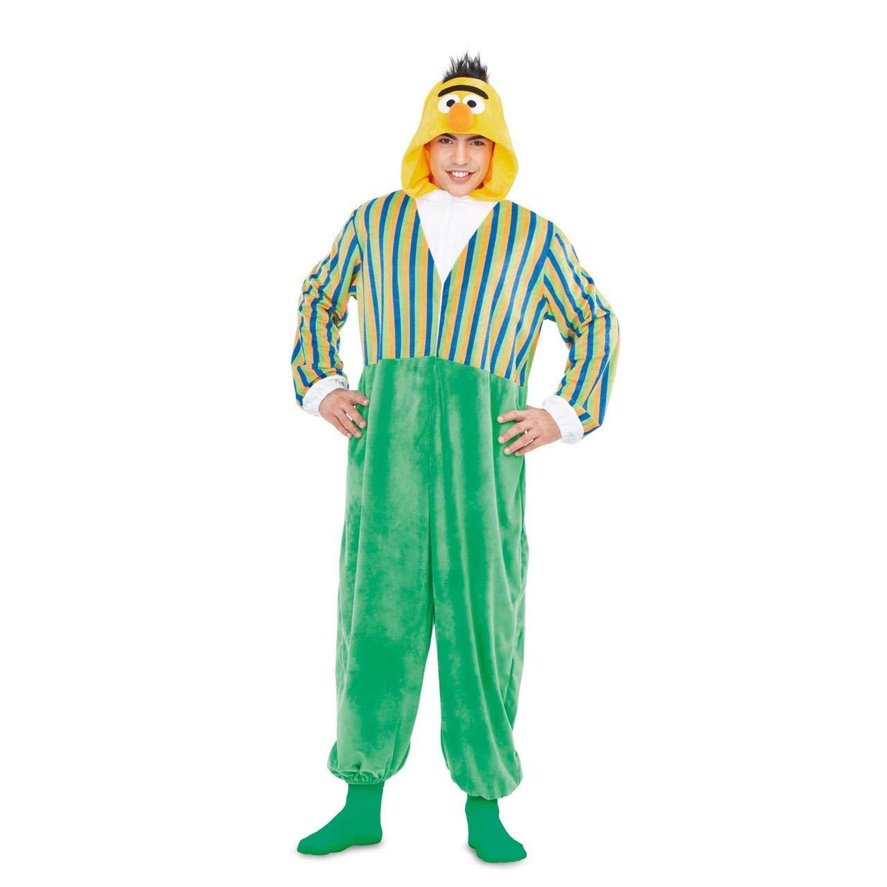 Barrio Sésamo Disfraz Pijama de Blas para Adultos: Amazon.es ...